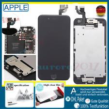 Für iPhone 6 RETINA Glas LCD Display Komplett VORMONTIERT Button SCHWARZ Black