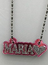 Personalized Name Necklace Any Name Plate With Heart - A Gorgeous Great Gift