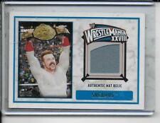 WWE Sheamus 2012 Topps WrestleMania 28 Authentic Event Used Mat Relic Card