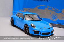 Minichamps 1:18 porsche 911 GT3 2013 blue