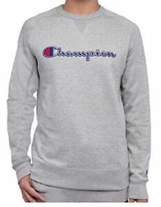 Champion Men's Fleece Crewneck Sweatshirt Pick Sz and Color TINI {&}