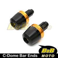 For Suzuki DL650 / V-STROM 650 11 12 GOLD DZO CNC Bar Ends Slider