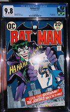 batman 251 cgc 9.8!!!! (1 Of 23 In Existence) Neal Adams Joker Cover Classic!!