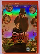 Charlie And The Chocolate Factory DVD 2005 2disc Edition7321900593373Johnny Depp