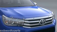 TOYOTA HILUX HEADLAMP COVERS SR WORKMATE RUGGED JULY 2015> HALOGEN TYPE GENUINE