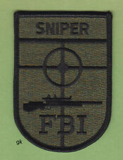 FBI SUBDUED SNIPER SHOULDER PATCH