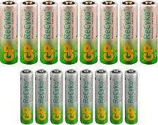 GP RECYKO NiMH Rechargeable 8 AA & 8 AAA Batteries
