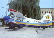 ARP 410 Airlines Ukraine AN-2 Postcard