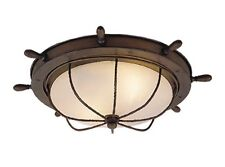 Orleans Nautical Ceiling Lighting Vaxcel Antique County Red Outdoor OF25515RC