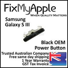 Samsung Galaxy S3 OEM Black Power Button Sleep Side On Off Key Replacement New