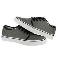 Vans 106 Vulcanized Grey/White Canvas New In Box