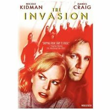 The Invasion, Good DVD, Jeffrey Wright,Jeremy Northam,Daniel Craig,Nicole Kidman