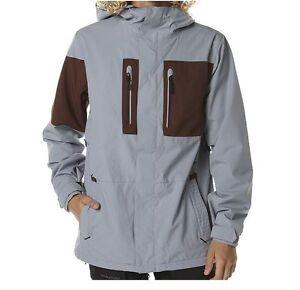 VOLCOM SNOW Men's  HALF SQUARE Snow Jacket - Size Medium  - GRY - NWT LAST ONE