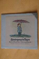 Spaziergang im Regen, Walter Flechsig Verlag Dresden, ca. 40er Jahre