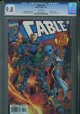 Cable 87 CGC 9.8 Mystique Dream's End HTF X-Men X-Force New Mutants