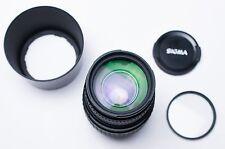 Sigma 70-300mm f/4-5.6 DL Macro Super Lens for Minolta Caps & Filter (#1792)