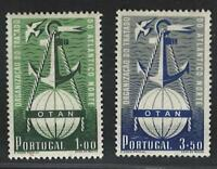 Portugal Stamps | 1952 | NATO | 749-750 MH OG (Complete Issue)