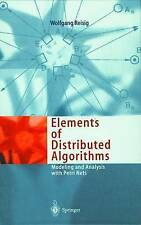 NEW Elements of Distributed Algorithms: Modeling and Analysis with Petri Nets