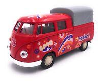 VW Bulli T1 BUlli Love Pick up Modellauto Auto LIZENZPRODUKT 1:34-1:39