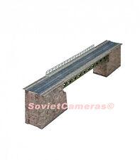 1/87 HO Scale Building Railway Railroad BRIDGE USSR 3D Cardboard Model Kit New