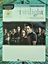 New! TWILIGHT for TROMBONE Book with CD Accompaniment HL00842412 Bella's Lullaby