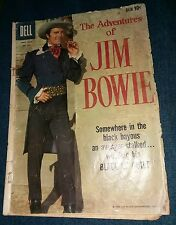 Jim Bowie Adventures Four Color 993 Dell 1959 Knife ABC TV show Paddle Wheel Gun