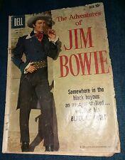Jim Bowie Adventures Four Color 993 Dell 1959 Knife ABC TV show Paddle Wheel Gun