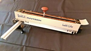 Raitech, Industrial Swatch Cutter w/Laser Guide, Cloth, Leather, Sample, Pinking