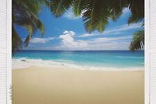 Poster Malediven - Strand Beach Paradies Meer Ozean Insel Palme 91,5 x 61 cm