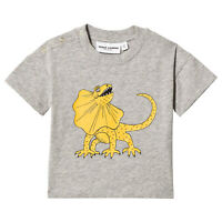 Mini Rodini Grey Melange T-Shirt