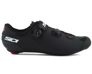 Sidi Genius 10 Road Shoes (Black/Black)