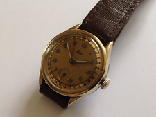 VINTAGE 1950'S EMES GERMAN MADE DATE POINTER WATCH.
