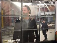 The Walking Dead S4 TERMINUS Rick and Carl Insert Set Z 1-9 in Plastic Sleeves
