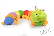 Colorful Inchworm Soft Lovely Developmental Child Baby plush Toy Cool