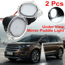 2Pcs LED Side Mirror Puddle Light For Ford F-150 Edge Explorer Mondeo Taurus New