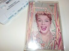 Christmas with Rosemary Clooney Cassette Tape EXCELLENT condition