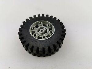 Lego® Technic Rad Reifen Felge 24x43 3739c01 3739 3740 alt hell grau hellgrau