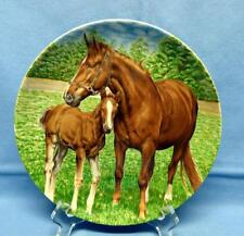 KAISER W.GERMANY WALL HANGING PLATE -HORSES