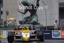 Jacques Laffite Williams FW09 Detroit Grand Prix 1984 Photograph