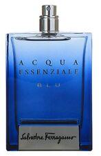 ACQUA ESSENZIALE BLU by Salvatore Ferragamo for men 3.4 oz 3.3 edt New Tester