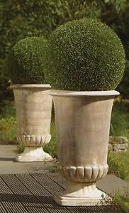 Amphore Pflanzkübel Vase Terracotta Pokal Blumenkübel 63 cm Höhe Neu Antik