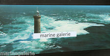 Phare breton kereon déco marine Bretagne poster photo couleurs panoramique 67cm