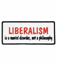Liberalism Is A Mental Disorder Patch, Political Patches