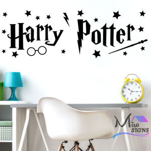 Harry Potter Sign with stars Wall Sticker Decal