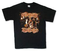Aerosmith Hot Rocks Tour 2006 Black T Shirt New Official USA Canada