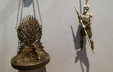 GAME OF THRONES: IRON THRONE & WHITE WALKER Ornaments  -  SALE 35%