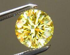 Yellow Australian Sapphire - Round Cut - 2.25mm