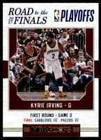 2017-18 NBA HOOPS ROAD TO THE FINALS KYRIE IRVING 1845/2017 CLEVELAND CAVALIERS