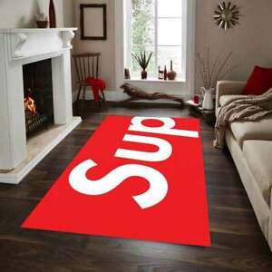 Supreme   Rug ,Fan Carpet Non Slip Floor Carpet,Teen' 3x5ft