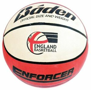 Baden Enforcer Basketball - Cushion Control Quality Ball for Indoor Outdoor